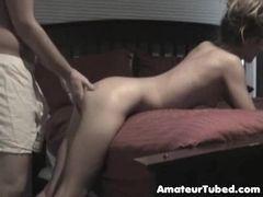 Namorada chapada tomando no cu