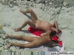 Video sexo amador na praia