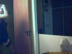 Thais e Julio filmam putaria no quarto