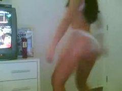 Gostosa dançando funk cam