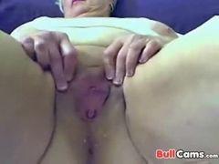 Velha de 59 anos na webcam