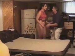 Metendo de conchinha com a esposa