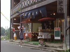 Japinha esperta paga boquete na rua