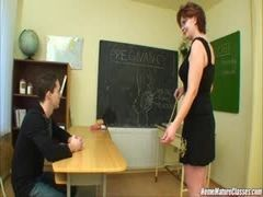 Finalmente ele fudeu a professora