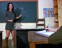 Traçando a professora cachorra safada